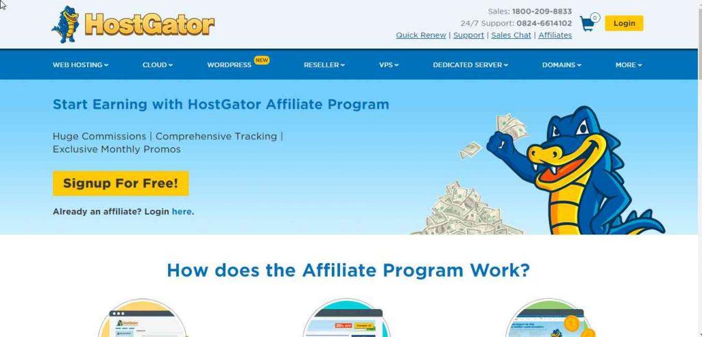 Top 10 affiliate programs in India