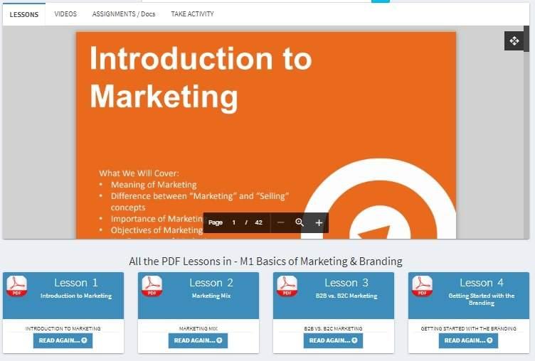 PDF Lessons